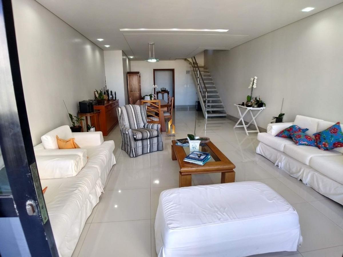 cobertura duplex 4 quartos com lazer privativo na praia da costa - 19486