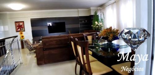 cobertura duplex 4 suítes, 218 m² na 106 sul - dubai - 616