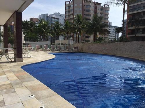 cobertura duplex 5 dormitórios, pé na areia - módulo 6 - riviera de são lourenço - co0077