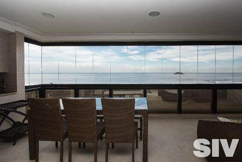 cobertura duplex 5 suítes de frente para o mar, módulo 3 - riviera de são lourenço - co0199