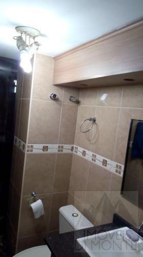cobertura duplex a venda em são paulo, santa cecília, 2 dormitórios, 1 suíte, 3 banheiros, 1 vaga - 654