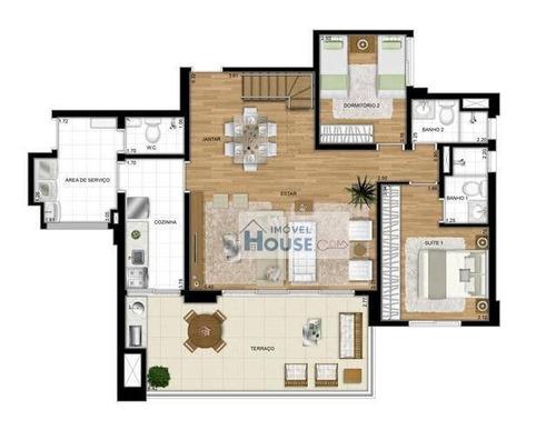 cobertura duplex alto padrão à venda, aclimação, são paulo. - co0009