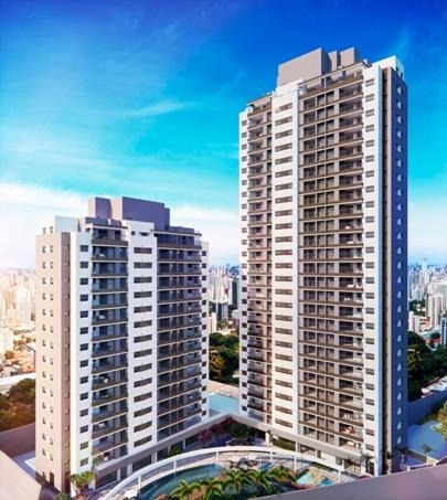 cobertura duplex com 133m² com 2 dormitórios e 3 vagas