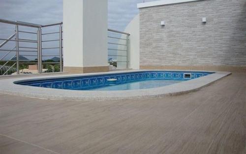 cobertura duplex com piscina aquecida
