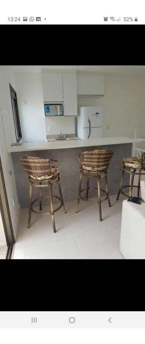 cobertura duplex mobiliada - condomínio rio marina resort