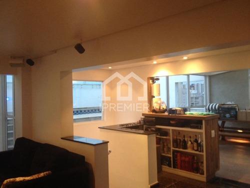 cobertura duplex moema índios - ótima localização - 191m² - 3 dormitórios, 1 suíte, 3 vagas - rt1479