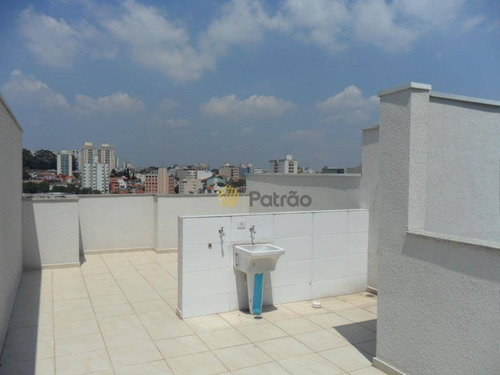 cobertura duplex à venda, rudge ramos, são bernardo do campo. - co0092