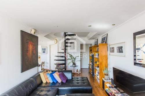 cobertura duplex vila mariana 110m² 2 suites, escritório e 2 vagas - ap504