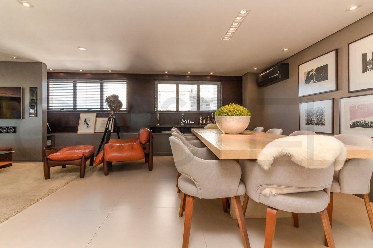 cobertura em bela vista com 3 dormitórios - ca3895