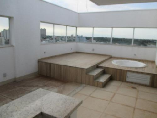 cobertura em jardim sumaré, araçatuba/sp de 184m² 3 quartos à venda por r$ 1.200.000,00 - co82546