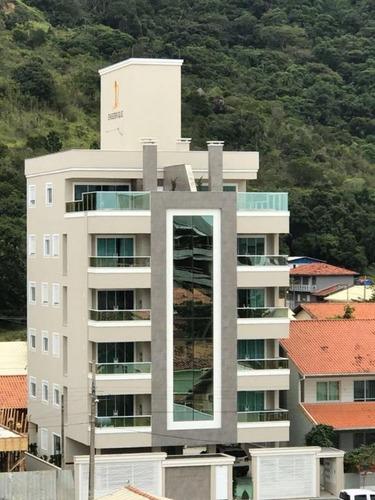 cobertura em praia de palmas, governador celso ramos/sc de 156m² 3 quartos à venda por r$ 849.000,00 - co187854