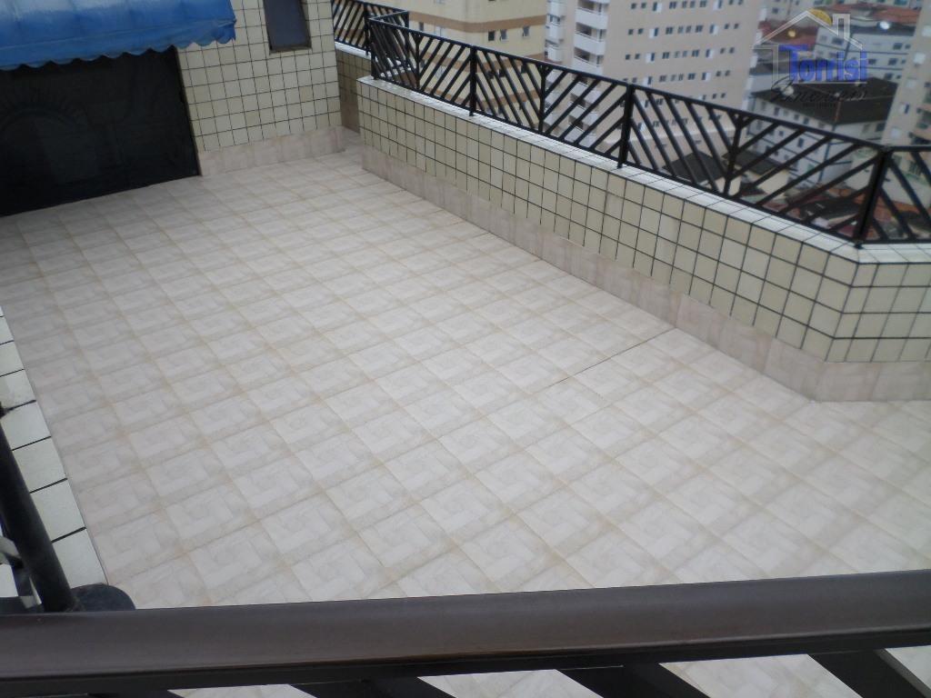 cobertura em praia grande,03 dormitórios sendo 02 suítes.piscina privativa, 03 vagas de garagem na tupi - co0020 - co0020
