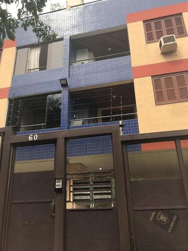cobertura em santa tereza, porto alegre/rs de 102m² 2 quartos à venda por r$ 390.000,00 - co184953