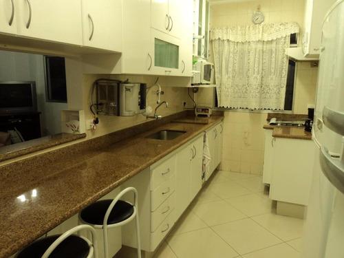 cobertura maravilhosa 3 dormitórios mais dependência de empregada  - tombo - g uarujá - co0105