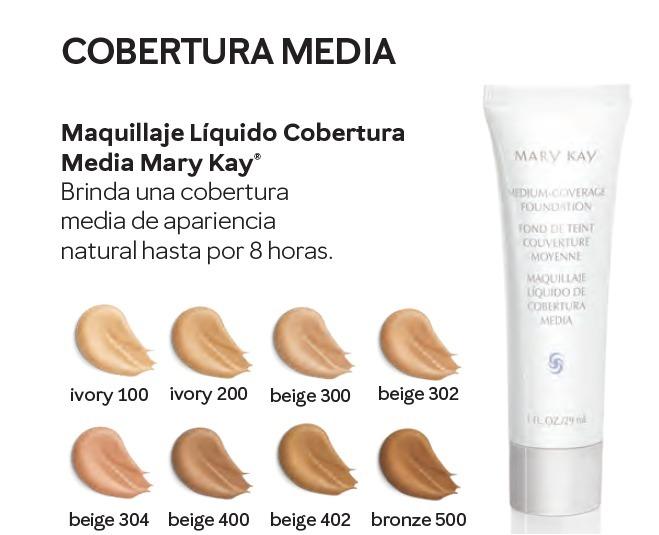 5f5a5ae14 Cobertura Media Maquillaje Todos Los Tonos Mary Kay - $ 129.00 en ...