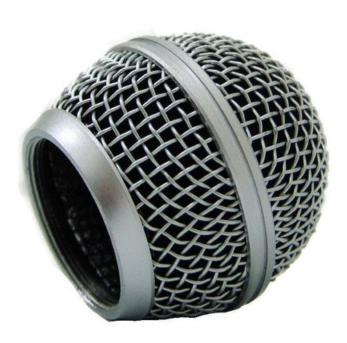 cobertura metalica universal para microfono de mano m58 esdj