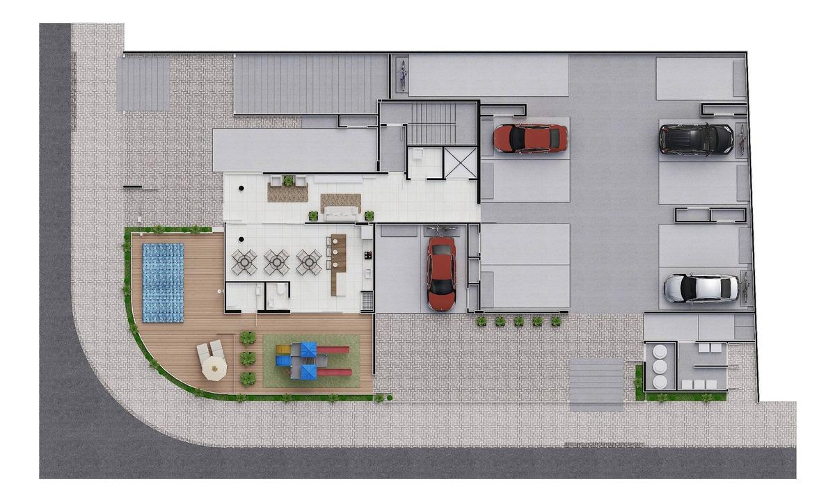 cobertura no glória   178 m²   01 suíte + 02   02 vagas - sa00027 - 31977024