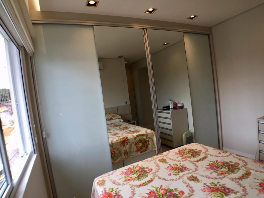 cobertura no saguaçú com 3 quartos para venda, 146 m² - lg7481