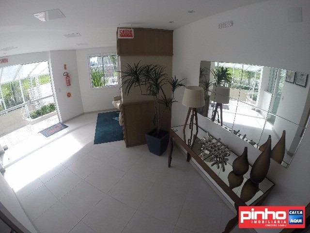 cobertura nova, 03 dormitórios (01 suíte), venda, bairro pedra branca, palhoça, sc - ap00011