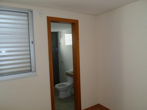 cobertura nova com 2 quartos no bairro cruzeiro. - 1549