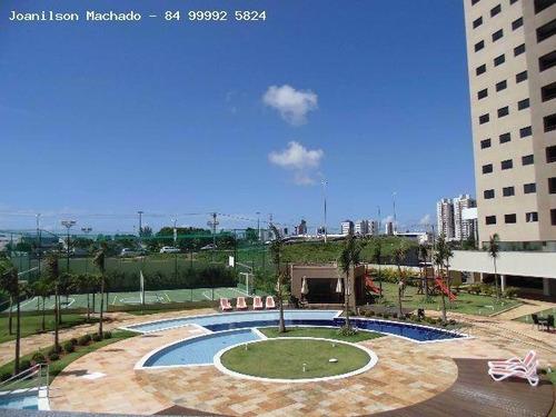 cobertura para venda em natal, candelária - cobertura porto arena, 3 dormitórios, 1 suíte, 4 banheiros, 2 vagas - cob0543