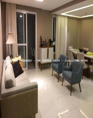 cobertura para venda em natal, lagoa nova - quartier, 4 dormitórios, 4 suítes, 6 banheiros, 3 vagas - cob0372-quartier