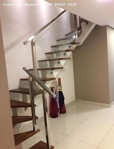 cobertura para venda em natal, lagoa nova - quartier lagoa nova, 4 dormitórios, 4 suítes, 6 banheiros, 3 vagas - cob0557-quartier lagoa nova