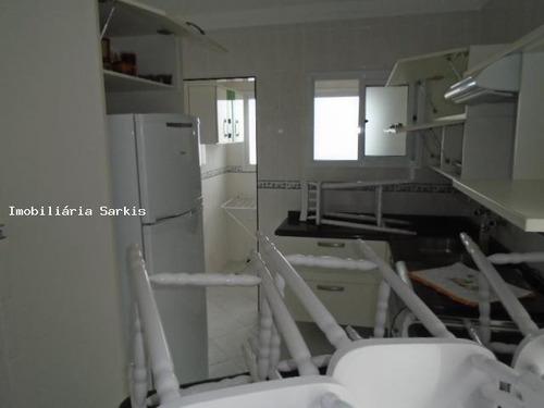 cobertura para venda em praia grande, ocian, 3 dormitórios, 2 suítes, 1 banheiro, 2 vagas - 208