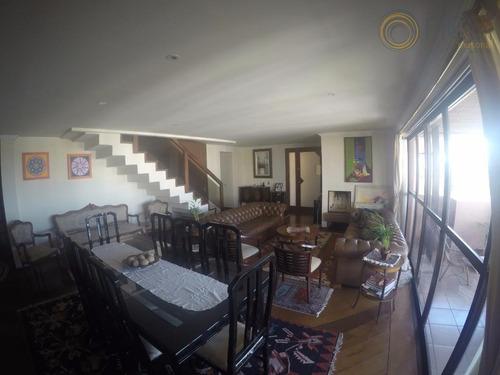 cobertura residencial mobiliada à venda ou locação, ahú, curitiba - co0064. - co0064