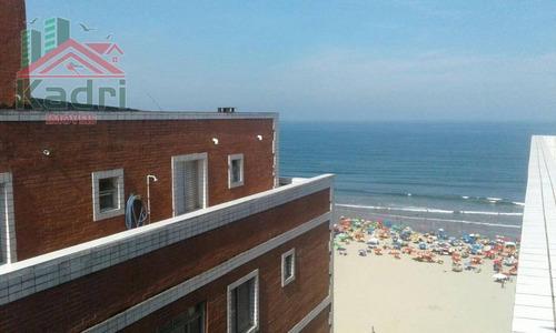 cobertura residencial para locação, aviação, praia grande. - co0006