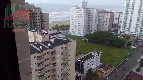 cobertura residencial para locação, aviação, praia grande. - co0007