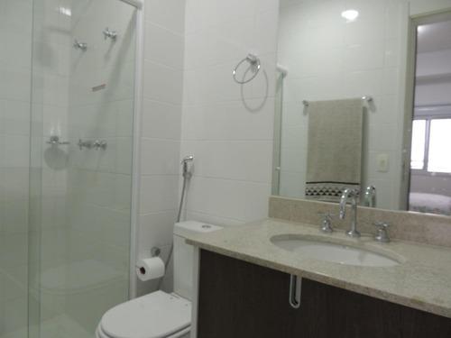 cobertura residencial para locação, boqueirão, santos - co0031. - co0031