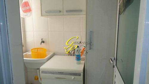 cobertura residencial para locação, pitangueiras, guarujá - co0093. - co0093
