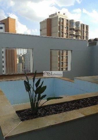 cobertura  residencial para venda e locação, cambuí, campinas. - co0017