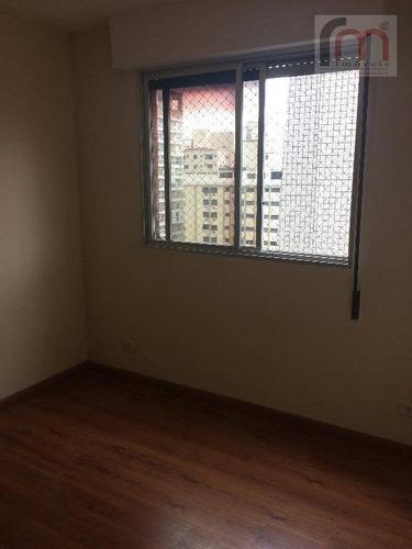 cobertura residencial para venda e locação, gonzaga, santos. - codigo: co0025 - co0025