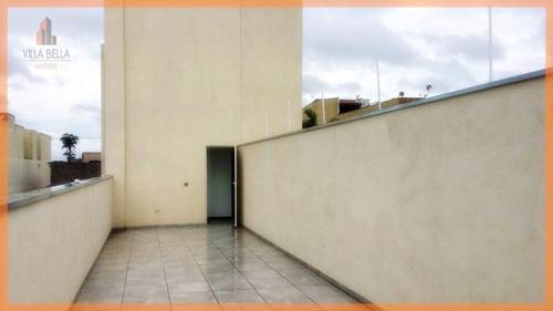 cobertura residencial para venda e locação, vila eldízia, santo andré. - co0933