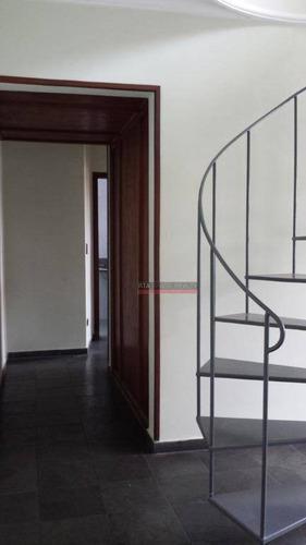 cobertura residencial para venda e locação, vila santa catarina, são paulo. - co0005