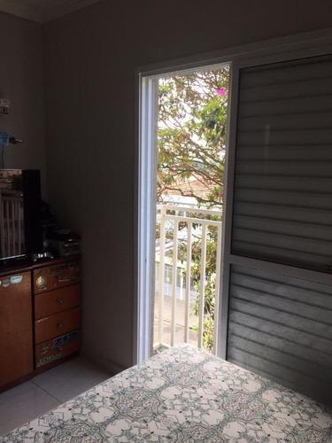 cobertura residencial para venda e locação, vila scarpelli, santo andré - co0787. - co0787