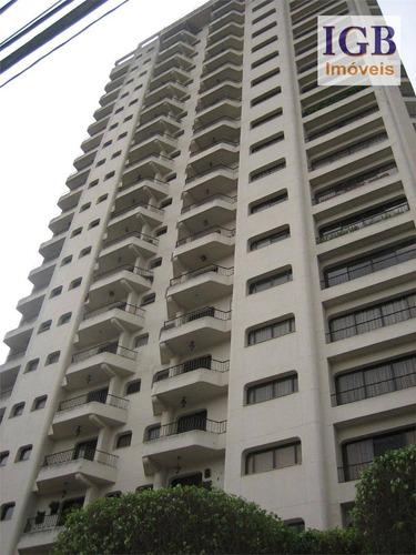 cobertura residencial à venda, alto da boa vista, são paulo. - co0009