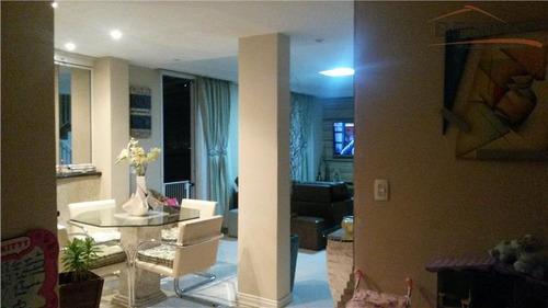 cobertura  residencial à venda, alto da lapa, são paulo. - co0187