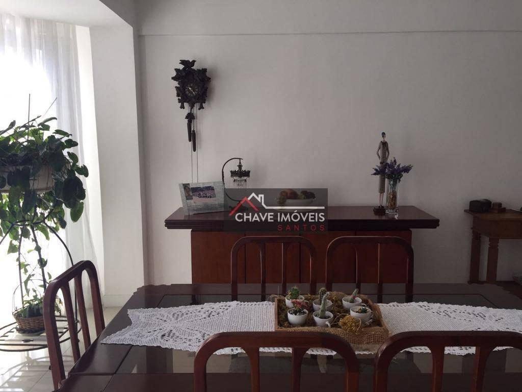 cobertura residencial à venda, aparecida, santos. - co0035