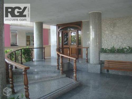 cobertura residencial à venda, aparecida, santos - co0043. - co0043