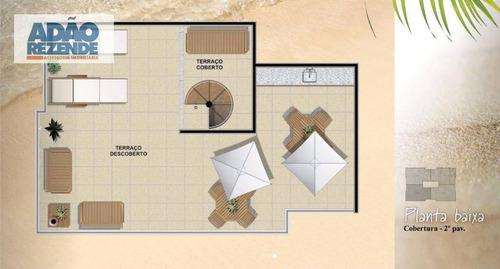 cobertura residencial à venda, baixo grande, são pedro da aldeia. - co0044