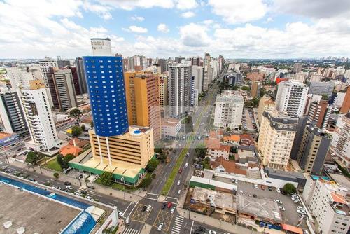 cobertura residencial à venda, batel, curitiba - co0013. - co0013