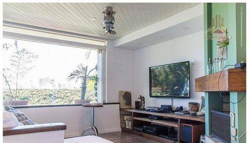 cobertura residencial à venda, bela vista, porto alegre. - co0240