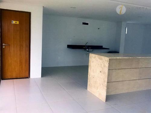cobertura residencial à venda, bessa, joão pessoa. - co0052