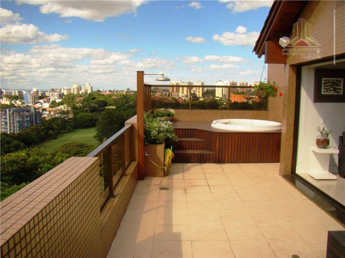 cobertura residencial à venda, boa vista, porto alegre. - co0225