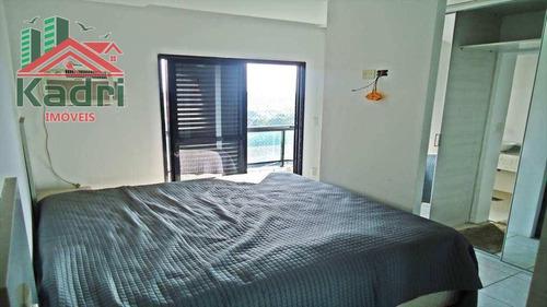 cobertura residencial à venda, boqueirão, praia grande. - co0001
