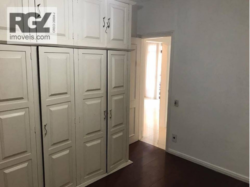 cobertura residencial à venda, boqueirão, santos. - co0163