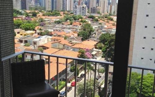 cobertura residencial à venda, brooklin, são paulo - co0140.